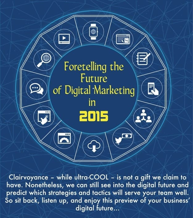 Foretelling The Future Of Digital Marketing [INFOGRAPHIC]
