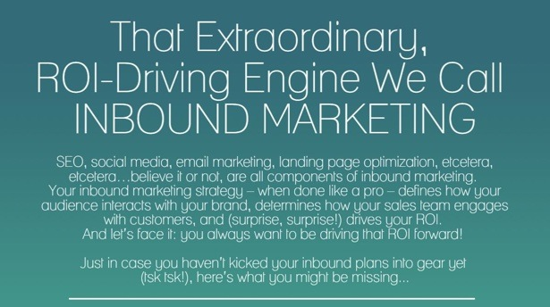The ROI-Driving Engine We Call Inbound Marketing