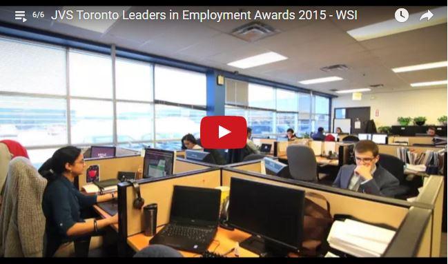 WSI Wins Prestigious Leader in Employment Award for 2015
