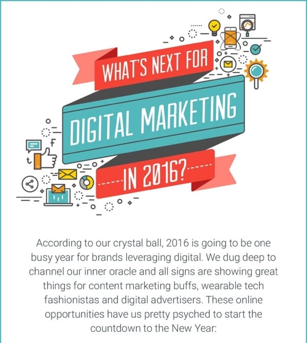 What's Next For Digital Marketing in 2016?